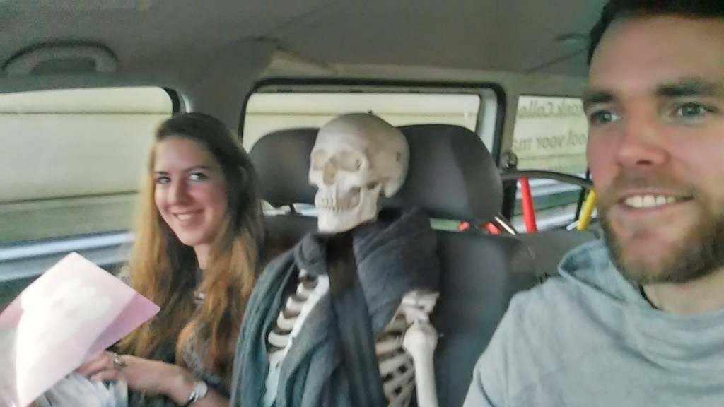 Joris en Anne onderweg naar NIBI 2016